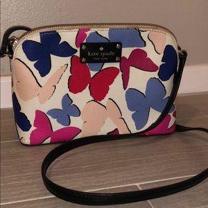 Kate spade butterfly crossbody purse